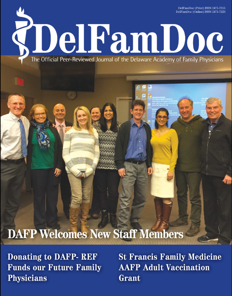 Click to read the latest edition of DelFamDoc